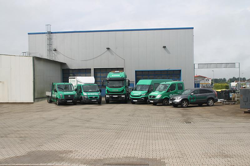Fuhrpark der Stahlbau Oltmanns GmbH.