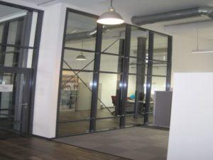 Fassadenbau aus Stahl